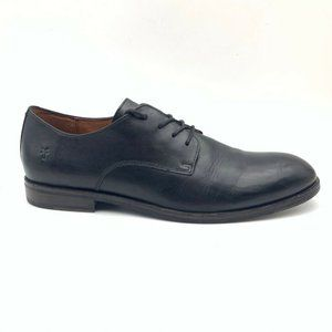 Frye Mens Oxfords Shoe Black Leather Lace Up 12